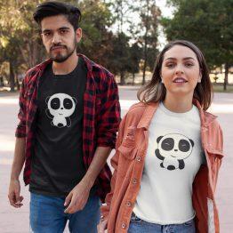 Panda T Shirt Hi Cute