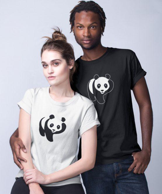 Panda T Shirt Scratch