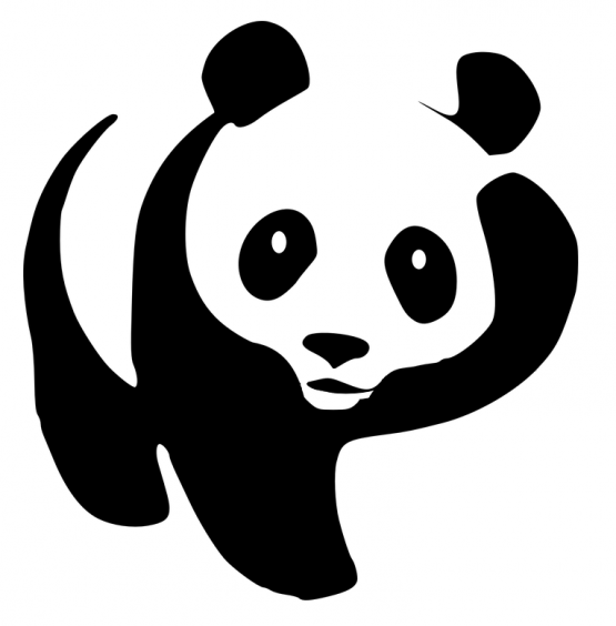 Panda kleding scratch 3 opdruk