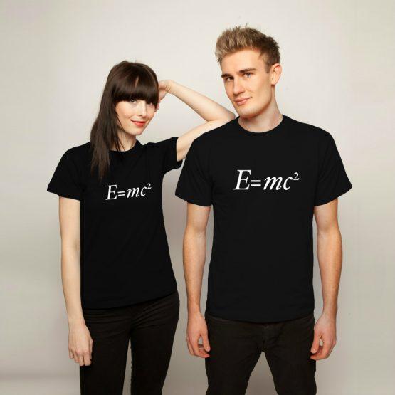 Albert Einstein shirt e=mc2 formule