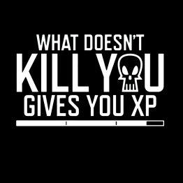 Gamer shirt XP opdruk