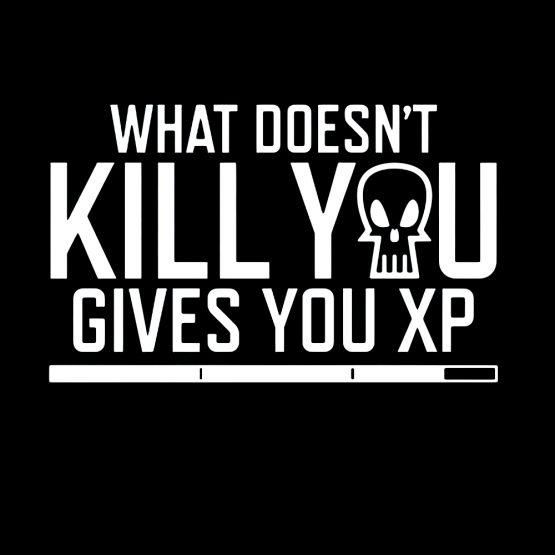 Gamer sweater XP opdruk