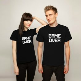 Gaming Shirts Game Over