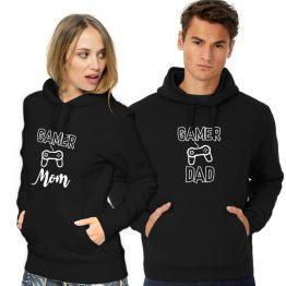 Gaming hoodie Mom Dad