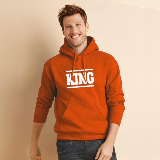 Koningsdag hoodie Stripes