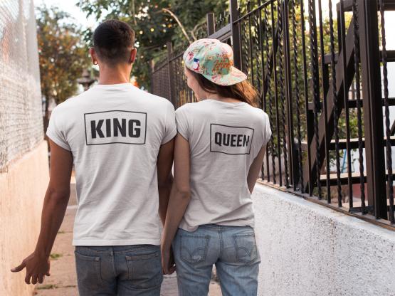 King Queen Shirts Box Back 2