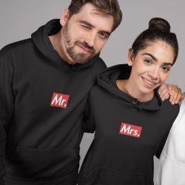 Mr en Mrs hoodie Supremely