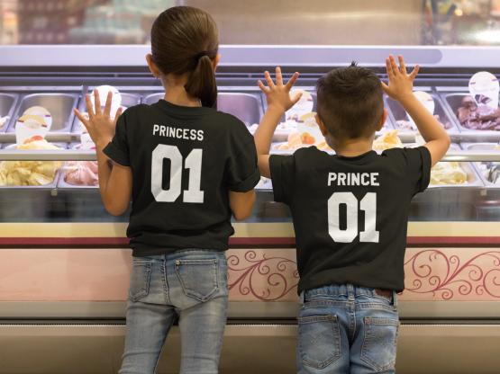 Prince Princess 01 shirts