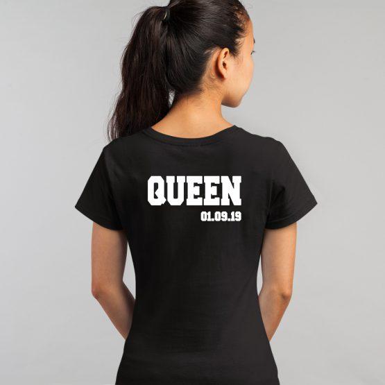 Queen Shirt met Datum