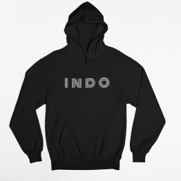 Indo Hoodie Monoton