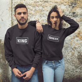 King Queen sweater box