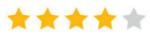 4 sterren rating