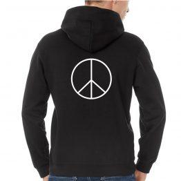 Peace hoodie Vredesteken