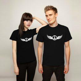Peace shirt wings