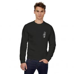 Peace sweater Small Hand