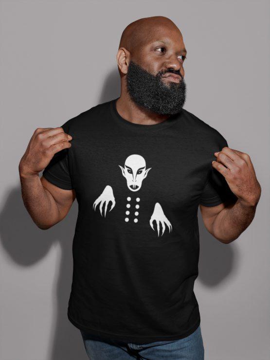 Nosferatu t shirt minimal