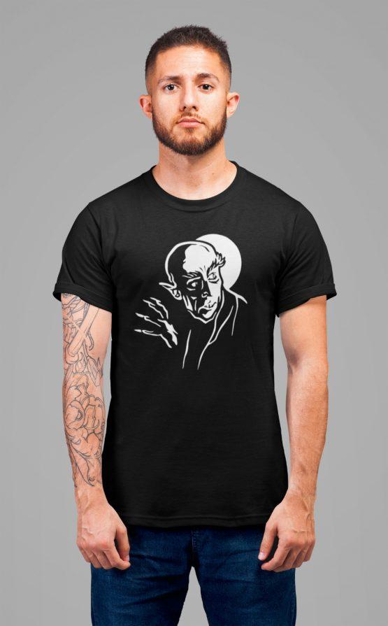 Nosferatu t shirt silhouette