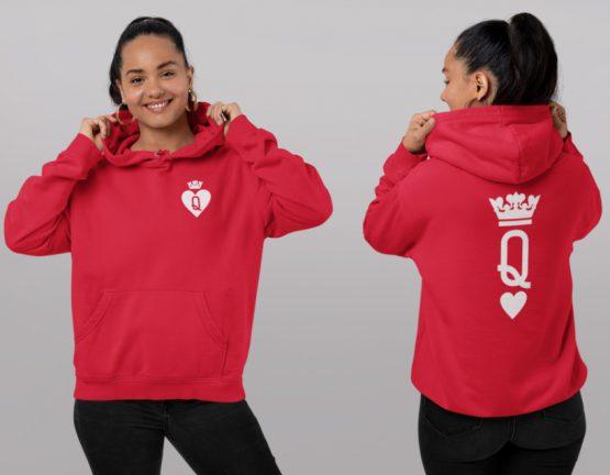 King Queen hoodies Set Premium Cards 1