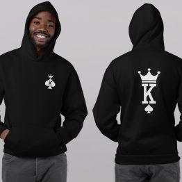 King Queen hoodies Set Premium Cards 2