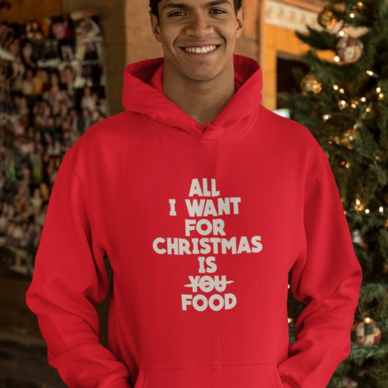 Kerst Hoodie All I want