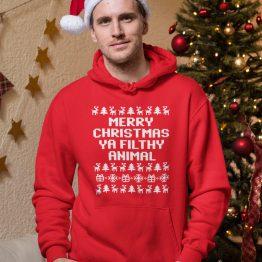 Kerst Hoodie Filthy Animal