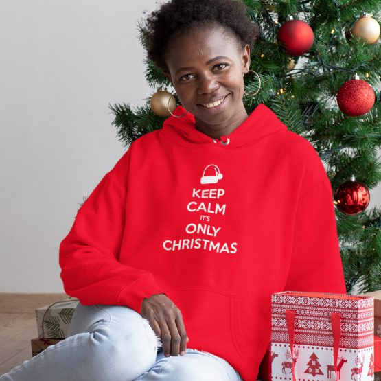 Kerst Hoodie Keep Calm