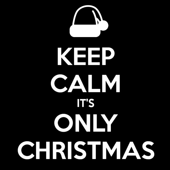 Kerst Kleding Opdruk Keep Calm