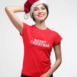 Kerst T-Shirt Merry Christmas