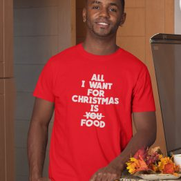Kerst T-shirt All I want