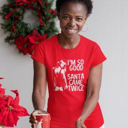 Kerst T-shirt So Good