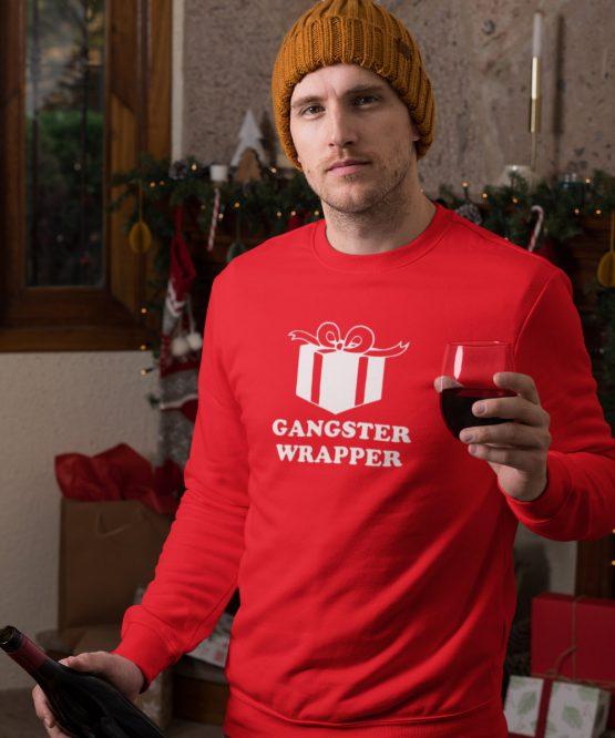 Kerst Trui Gangster wrapper