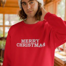 Kersttrui Merry Christmas