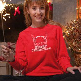 Kersttrui Merry Horns