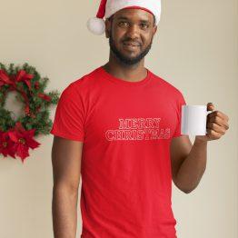 Kerst T-Shirt Merry Christmas 2