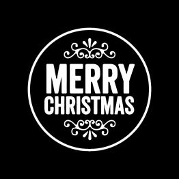 Kerstkleding Opdruk Merry Christmas