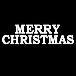Merry Christmas Kersttrui opdruk 3