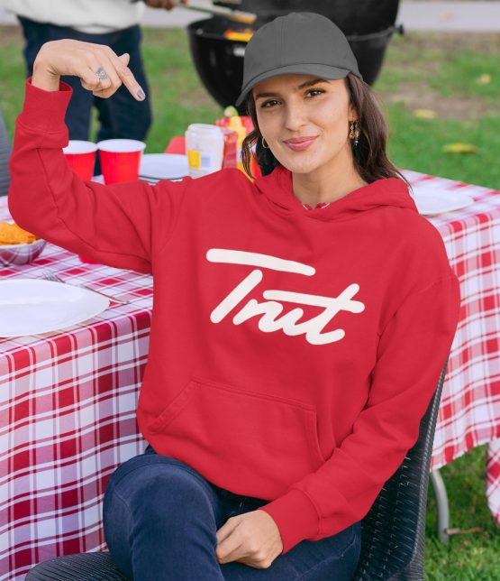Trut Hoodie Premium Red