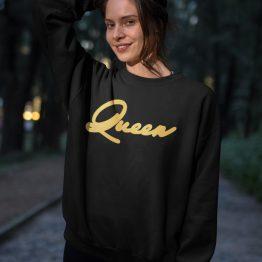 Queen Trui Premium Black Gold