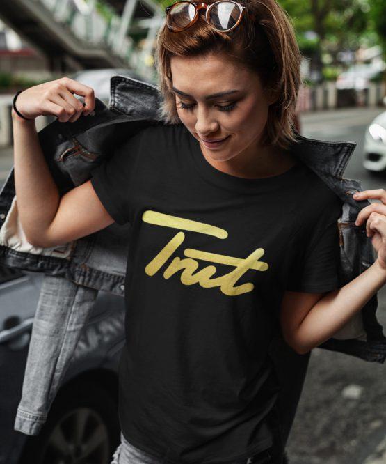 Trut T-Shirt Black Gold
