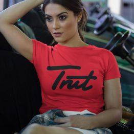 Trut T-Shirt Red Black