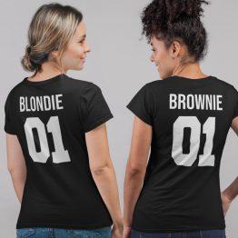 Blondie 01 Brownie 01 T-Shirt