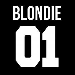 Blondie 01 Opdruk