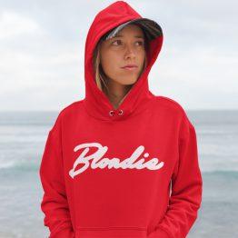 Blondie Hoodie Premium Red