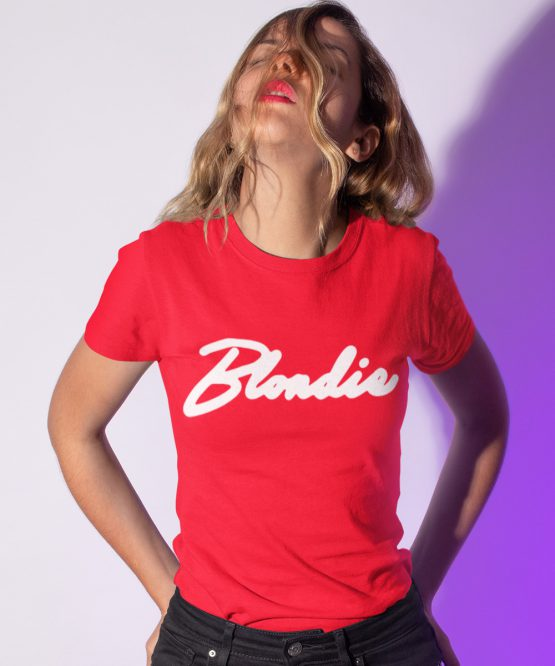 Blondie T-Shirt Premium Red