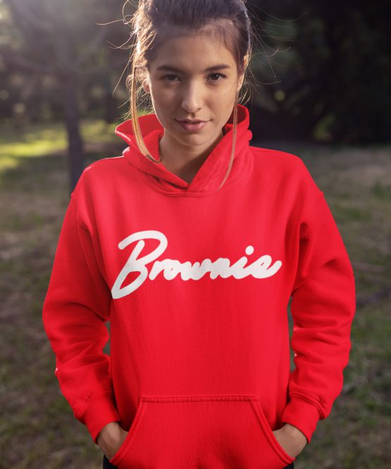 Brownie Hoodie Premium Red