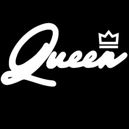 Koningsdag Kleding Queen opdruk