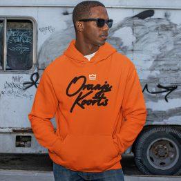 Koningsdag Hoodie Oranjekoorts