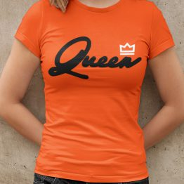 Koningsdag T-Shirt Queen Premium