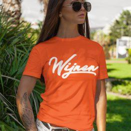Koningsdag T-Shirt Wijnen