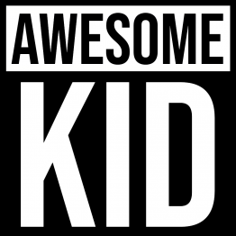 Vader Zoon Kleding Awesome Kids 2